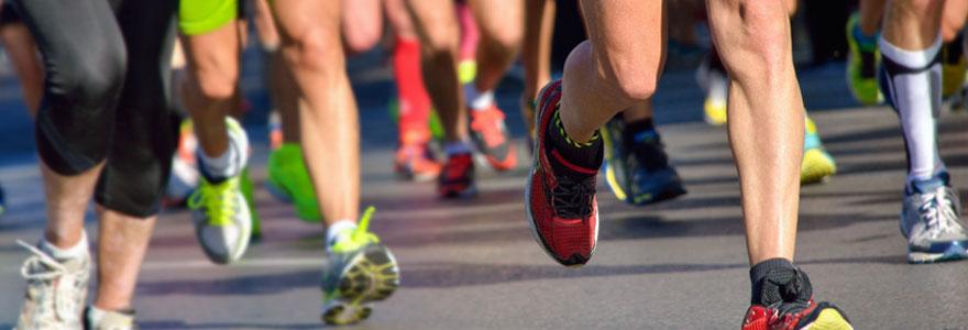 pratique de la course à pied