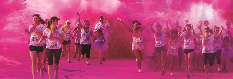 course colorée